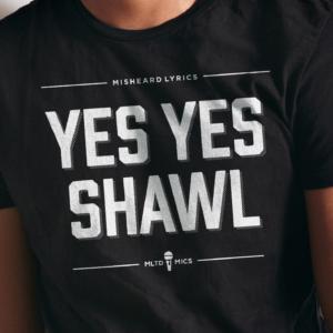 yes yes shawl